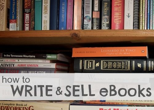 make money write and sell ebooks